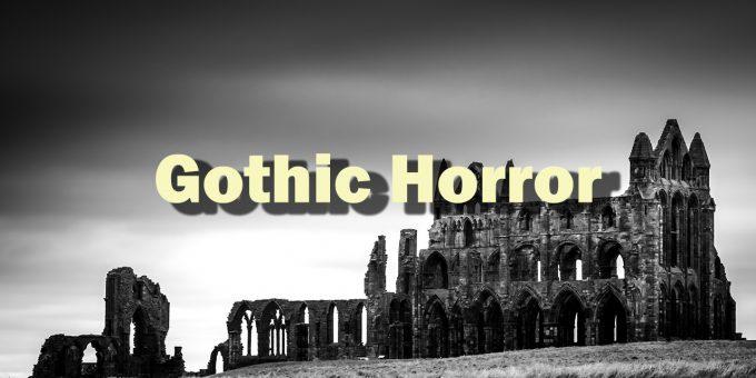 Ein verfallenes Gemäuer symbolisiert Gothic Horror