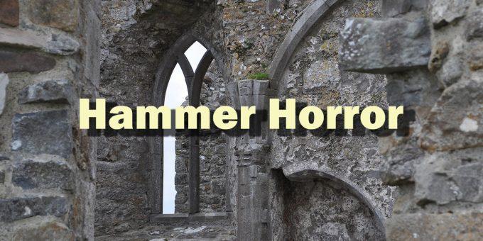 Das verfallene Burgfenster steht hier für den Hammer Horror