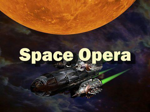 Space Opera - Mit dem Raumschiff zu den Sternen